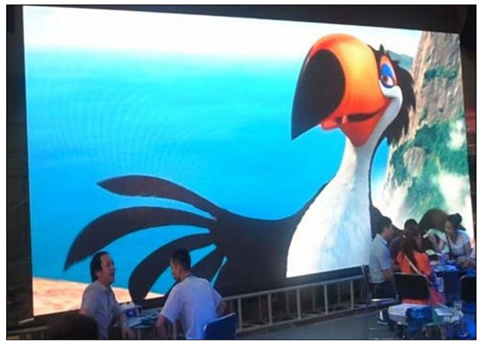Animation Video Outdoor LED Advertising Display , P3 Indoor 1R1G1B  Full HD LED Boards