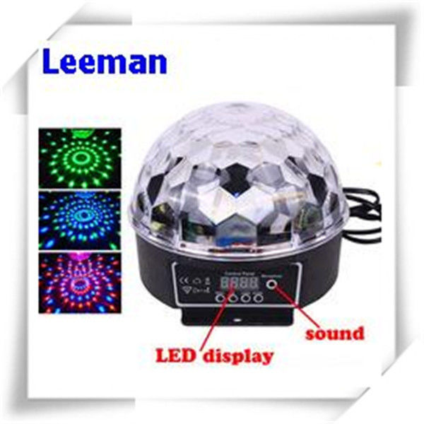 Digital Rgb LED Magic Ball Light 6W / Professional Stage Lighting Equipment 4500lm