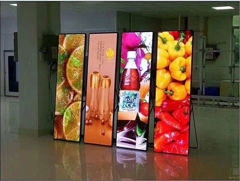 Imira P2 P2.5 P3 HD Video Poster advertising LED screen Mirror panel