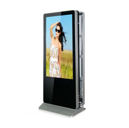 1080P Lcd Wall Display Screen Multi Digital Signage Advertisement 42'' Double Sided 1920x1080